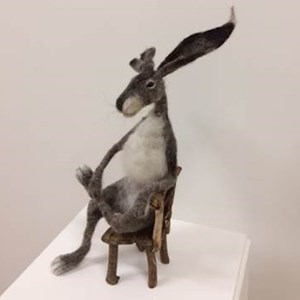 Hare on a Chair