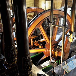 Beam engine at Abbey Pumping Station