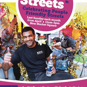 Image: Poster advertising Open Streets