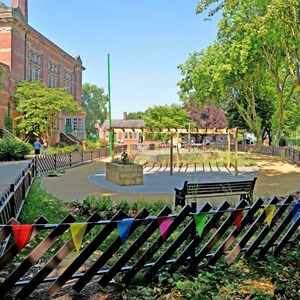 Abbey Pumping Station dementia-friendly garden