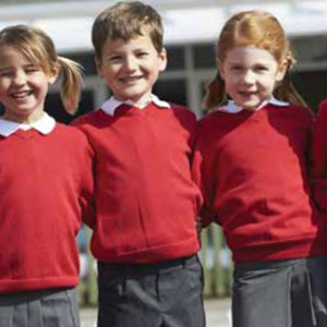 Image shows schoolchildren to illustrate school admissions