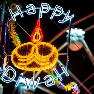 Diwali and Christmas to be marked with lights but no crowds this year