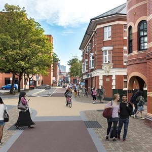 York Road artists impression