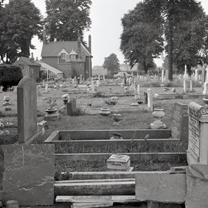 Archive pic of Begrave Cemetery