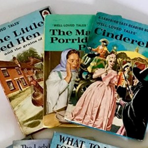 Collection of Ladybird Book covers