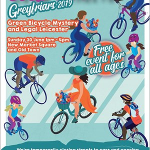 Image: A poster advertising the June 2019 Open Streets event