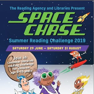 Image: Space Chase leaflet