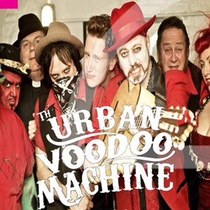 Group picture of Urban Voodoo Machine
