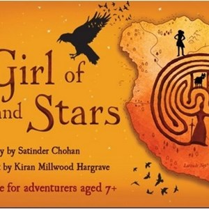 Image: A promotional poster for The Girl of Ink and Stars