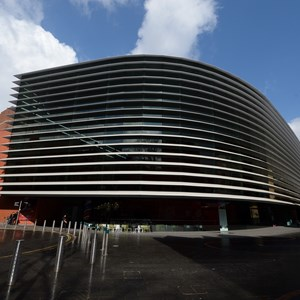 Image: Curve theatre in Leicester