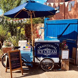 ice cream stall at Belgrave Food Festival