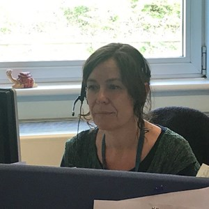 social care staff member Alison Earle