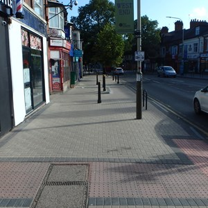 Pavement improvements on Narborough Road