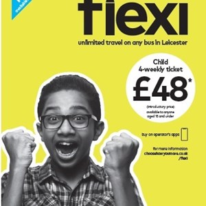 Flexi ticket promotional poster