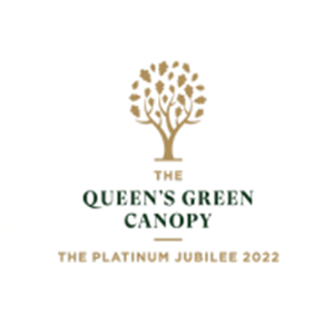Queen's Green Canopy logo
